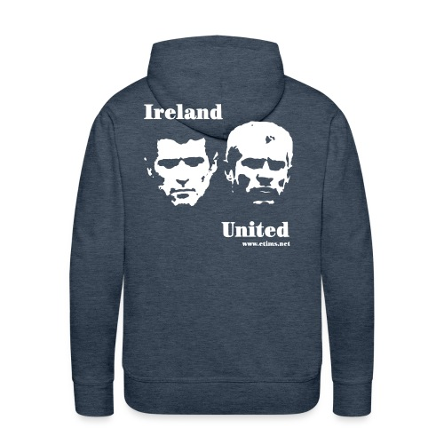 ireland united invert - Men's Premium Hoodie