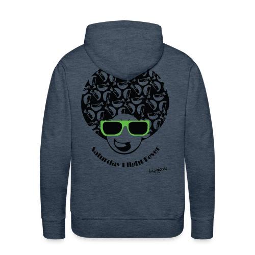 Afro_burschen_gruen - Männer Premium Hoodie