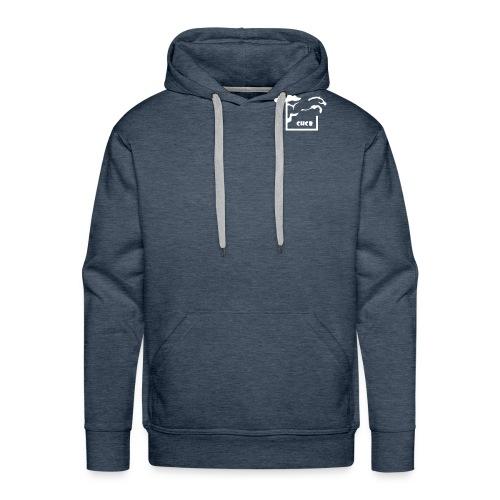 chcb logovecto petit22 - Sweat-shirt à capuche Premium pour hommes
