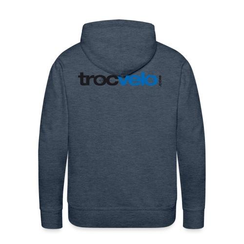 Logotype trocvelo sansbase png - Sweat-shirt à capuche Premium pour hommes
