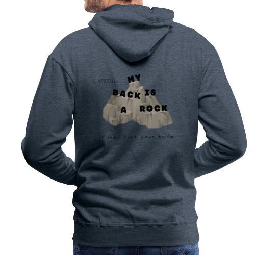 Back rock - Männer Premium Hoodie