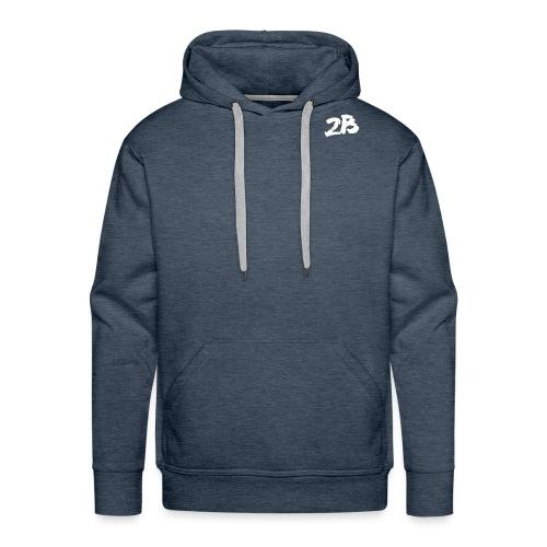 Sans titre-2.png - Sweat-shirt à capuche Premium pour hommes