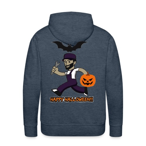 Halloween Buck - Mannen Premium hoodie
