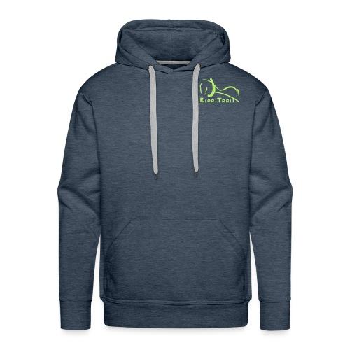 espritraitlogon - Sweat-shirt à capuche Premium pour hommes