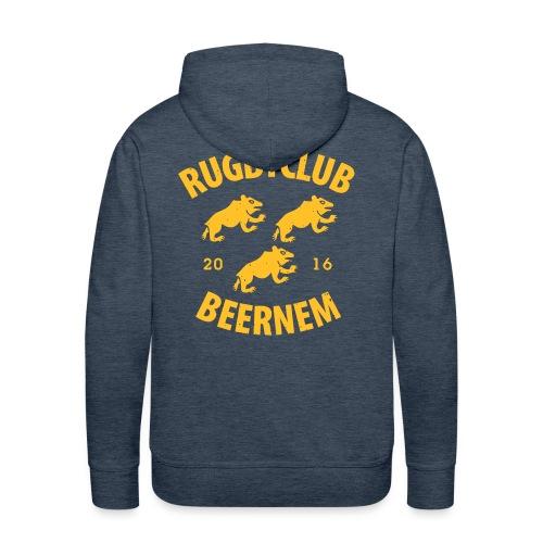 vintage RC Beernem logo - Mannen Premium hoodie