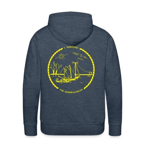 Admiralencup logo4 - Mannen Premium hoodie
