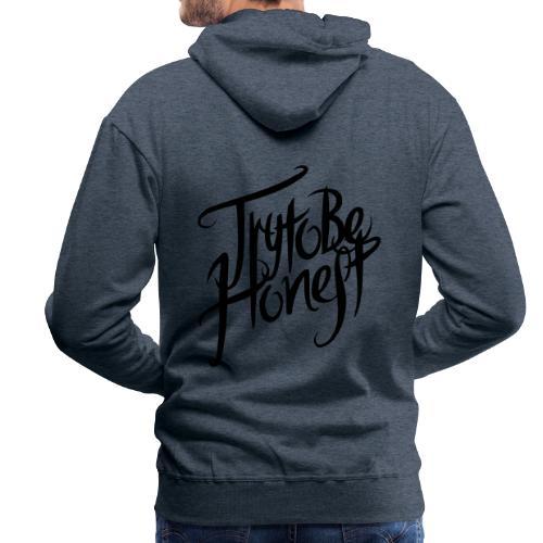 TtbH Logo Schwarz - Männer Premium Hoodie