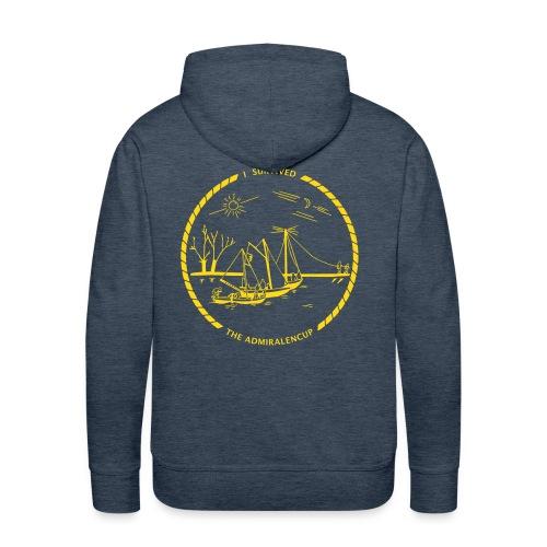 Admiralencup logo - Mannen Premium hoodie