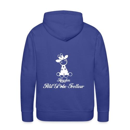 Hayden petit globe trotteur - Sweat-shirt à capuche Premium pour hommes