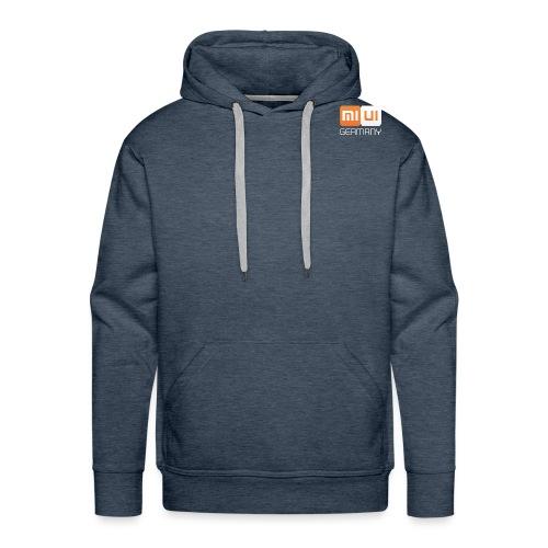 MIUI Ger Logo Kompakt png - Männer Premium Hoodie
