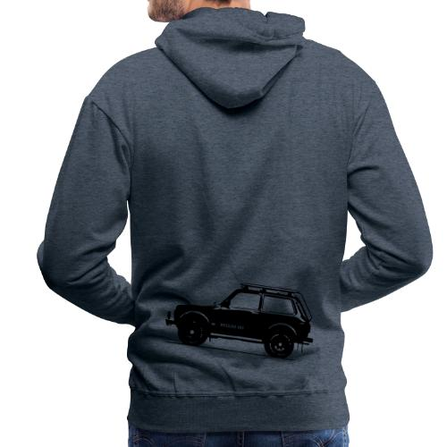 Lada Niva 2121 Russin 4x4 - Männer Premium Hoodie