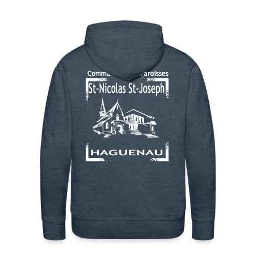 paroisseslogo3_copie - Sweat-shirt à capuche Premium pour hommes