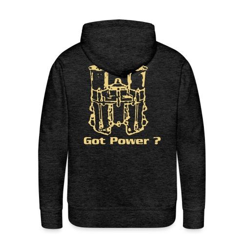 48IDA Got Power - Sweat-shirt à capuche Premium pour hommes