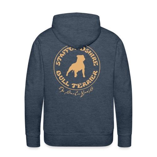 staffie - Sweat-shirt à capuche Premium pour hommes