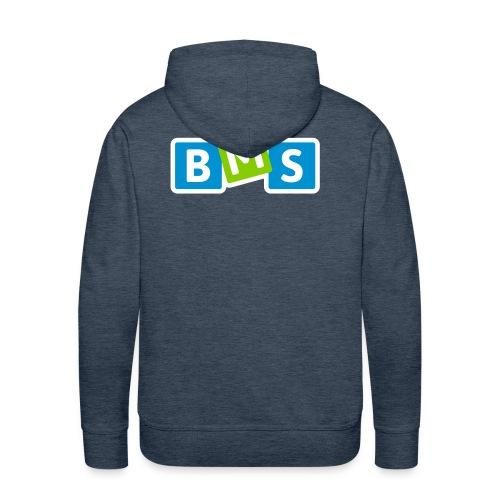 BMS origineel 3kleur outline - Mannen Premium hoodie