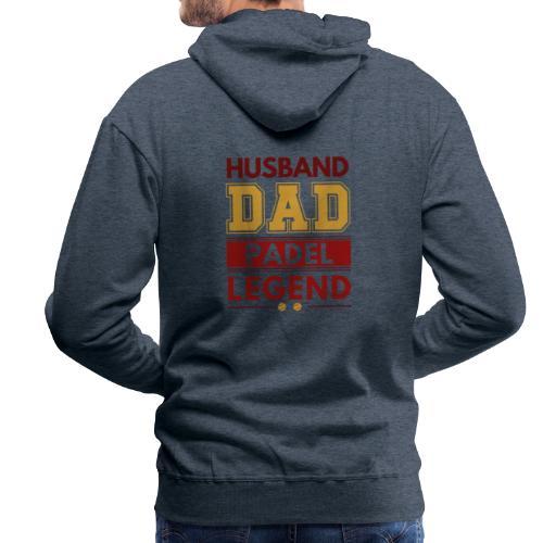 Man Pappa Padel Legend - Premiumluvtröja herr