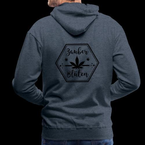 Zauber - Blüten Logo Designe - Männer Premium Hoodie