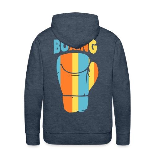 boxing design Color - Sweat-shirt à capuche Premium pour hommes