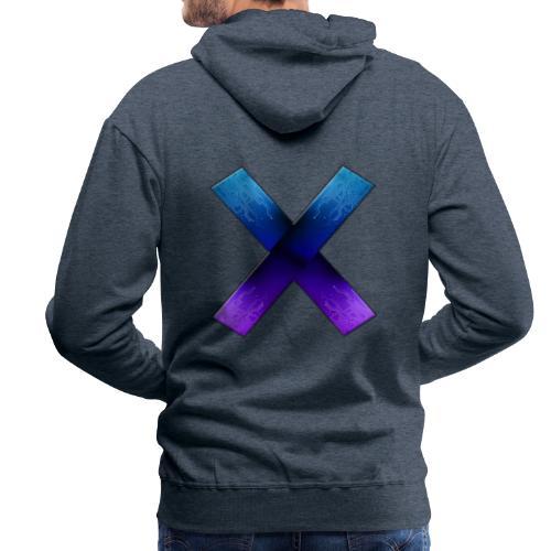 X play9 Only X - Herre Premium hættetrøje