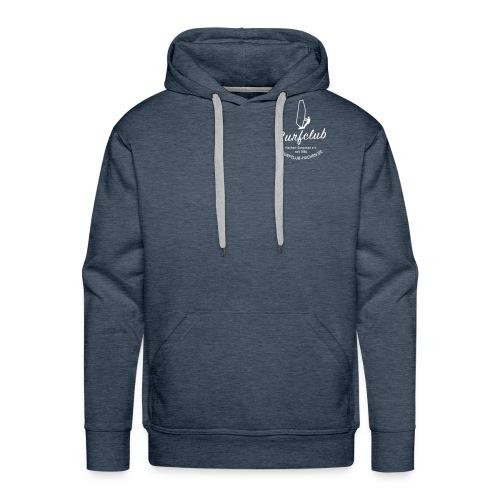 logo_surfclub_weiss_RZ - Männer Premium Hoodie