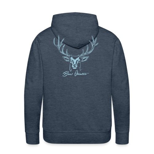 hirsch bow hunter - Männer Premium Hoodie