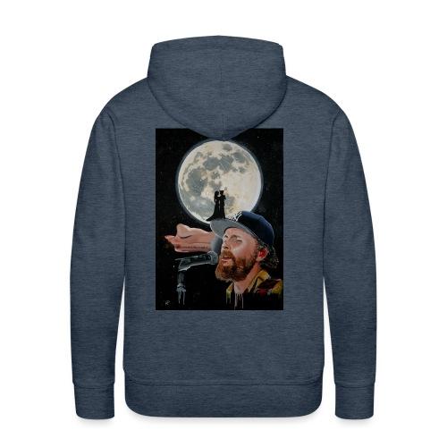 Chiaro di Luna - Felpa con cappuccio premium da uomo