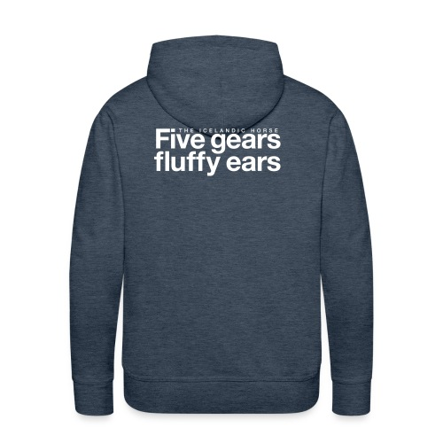 Five gears fluffy ears - Premium hettegenser for menn