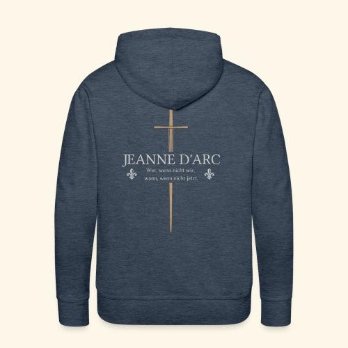 Jeanne d arc - Männer Premium Hoodie