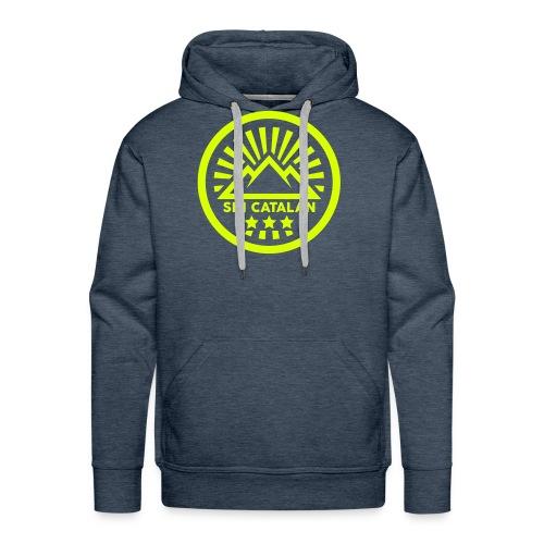 SKI CATALAN NB (1) - Sweat-shirt à capuche Premium pour hommes
