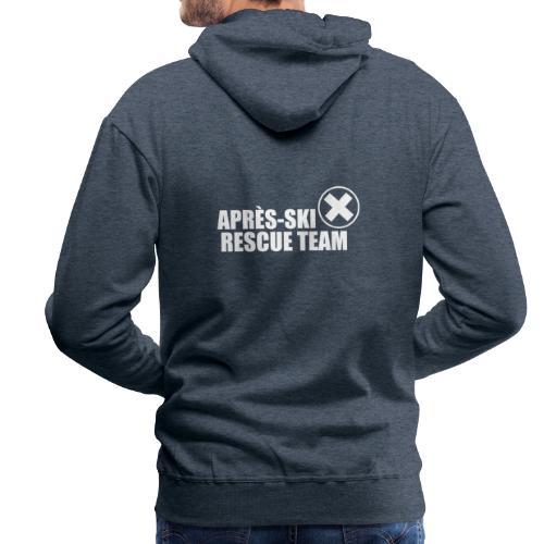 APRÈS SKI RESCUE TEAM 2 - Mannen Premium hoodie