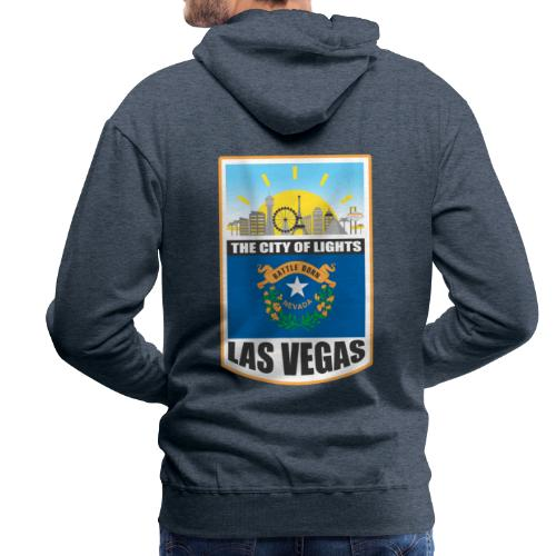 Las Vegas - Nevada - The city of light! - Men's Premium Hoodie