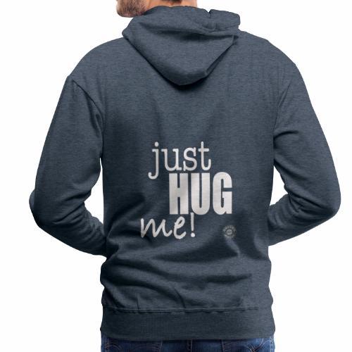 Just hung me! - Felpa con cappuccio premium da uomo