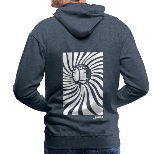 wirbel - Männer Premium Hoodie