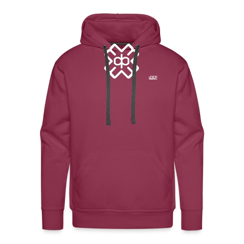 d3eplogowhite - Men's Premium Hoodie