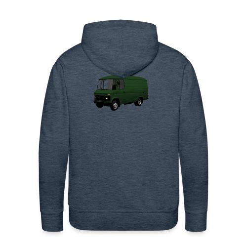 508 groen driekwart - Mannen Premium hoodie
