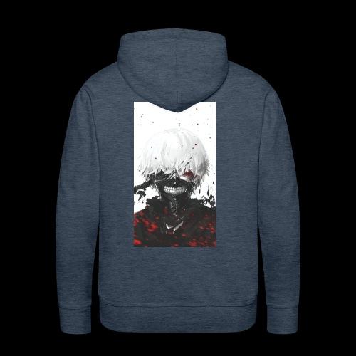Kaneki Ghoul - Sweat-shirt à capuche Premium pour hommes