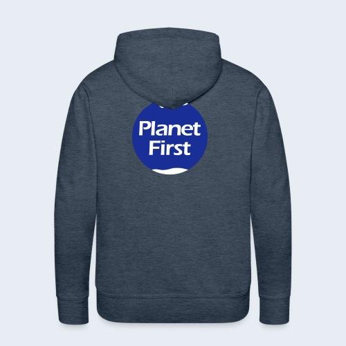 Planet First 2 - Mannen Premium hoodie