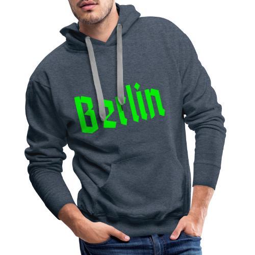 BERLIN Fraktur - Männer Premium Hoodie