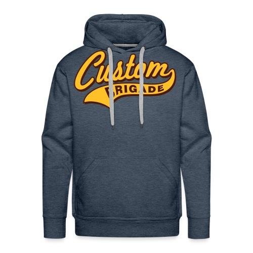 college3 - Sweat-shirt à capuche Premium pour hommes