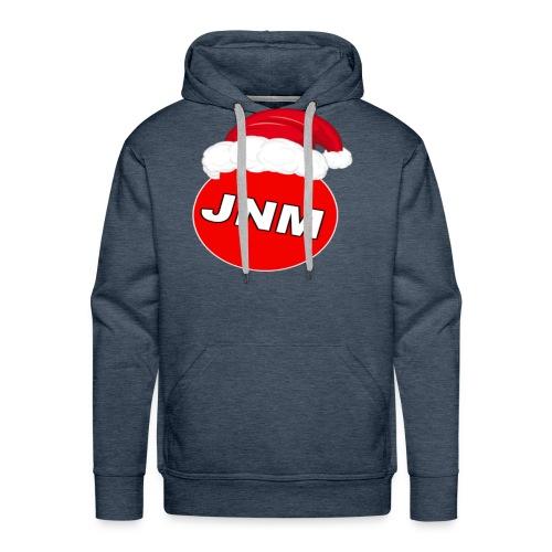 JustNotMe kerst merch - Mannen Premium hoodie