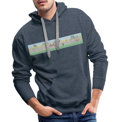 Backyard Galah Cam banner - Men's Premium Hoodie