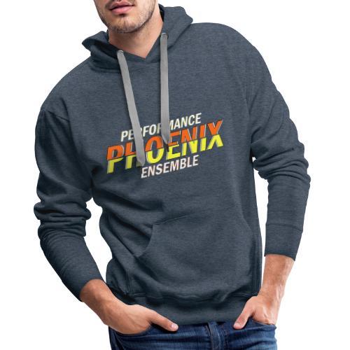 Phoenix Distorted Yellow - Männer Premium Hoodie