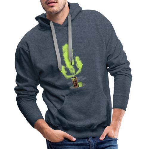Cactus - Nature doesn´t wait - Sudadera con capucha premium para hombre