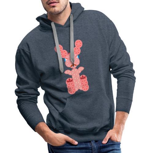 The Rabbit Of Life - Sacred Animals - Men's Premium Hoodie