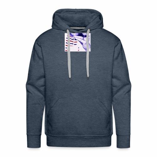 Français et fière de l'être - Sweat-shirt à capuche Premium pour hommes