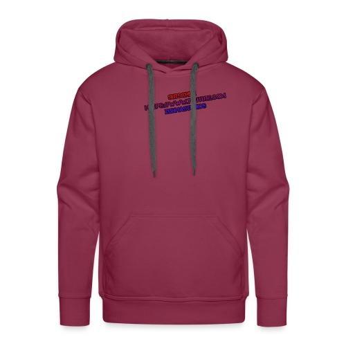 SUBSCRBE - Herre Premium hættetrøje