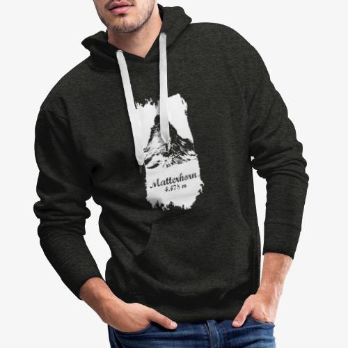 Matterhorn - Cervino - Men's Premium Hoodie