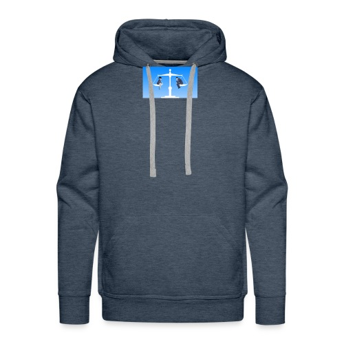 equality by santiago - Mannen Premium hoodie
