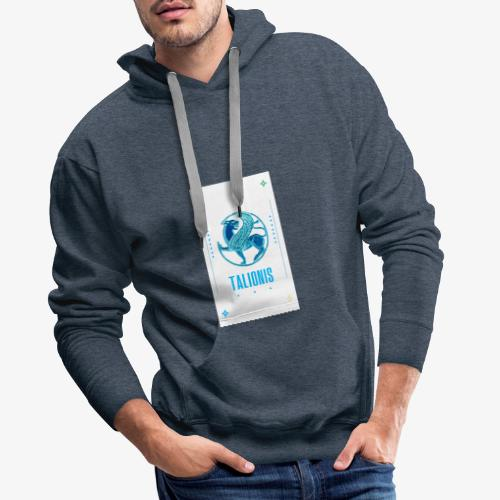 BLUE TALIONIS - Herre Premium hættetrøje