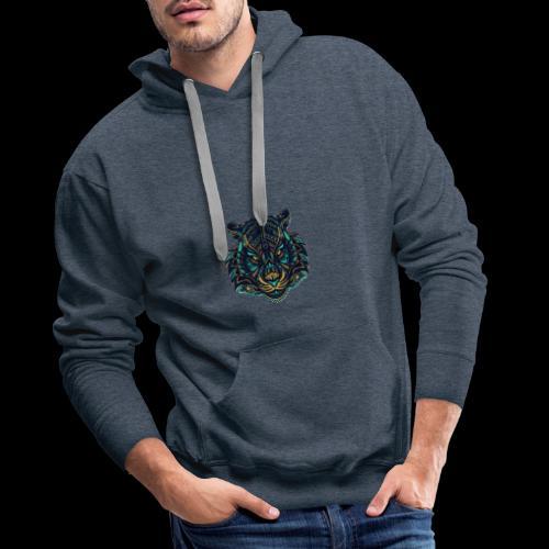 Tigers'eye - Sweat-shirt à capuche Premium pour hommes